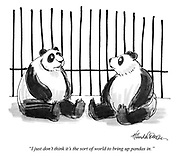 """I just don't think it's the sort of world to bring up pandas in."""