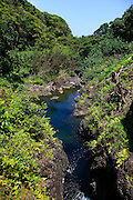 Sapphire Pool, Keanae Peninsula,Hana Coast, Maui, Hawaii