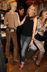 KIM HERSOV at Polo Ralph Lauren's Pink Pony Party to launch it's Pink Pony Collection in aid of Cancer Research UK, held at their Fulham Road Store, London on 13th October 2004.<br /><br /> UKNON EXCLUSIVE - WORLD RIGHTS