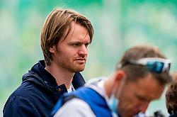 Derek Schippers in action during FBK Games 2021 on 06 june 2021 in Hengelo.