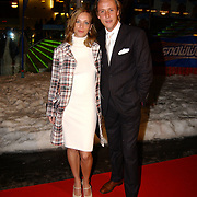 Premiere Snowfever, Daan Schuurmans en partner Jennifer Hoffman