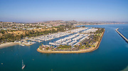 Dana Point Harbor Aerial View