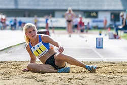 Trina Malej Praprotnik competes during day 1 of Slovenian Athletics Cup 2019, on June 15, 2019 in Celje, Slovenia. Photo by Peter Kastelic / Sportida
