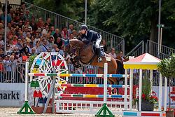 NIEBERG Gerrit (GER), CHILLY 15<br /> Münster - Turnier der Sieger 2019<br /> Preis der SPARKASSE MÜNSTERLAND OST<br /> CSI4* - Int. Jumping competition with one jump-off (1.50 m) <br /> Finale Mittlere Tour<br /> 04. August 2019<br /> © www.sportfotos-lafrentz.de/Stefan Lafrentz