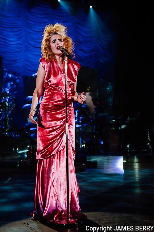 Paloma Faith performs live at Hammersmith Apollo, London, on 7 February 2013
