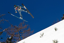 Domen Prevc (SLO) during the Trial Round of the Ski Flying Hill Individual Competition at Day 1 of FIS Ski Jumping World Cup Final 2019, on March 21, 2019 in Planica, Slovenia. Photo by Matic Ritonja / Sportida