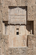 Tomb of Darius II. Achaemenid Tombs at Naqsh-e Rustam, Fars, Iran