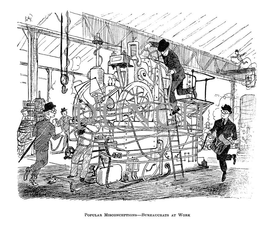 Popular Misconceptions - Bureaucrats at Work