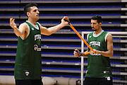 Biella, 14/12/2012<br /> Basket, All Star Game 2012<br /> Allenamento Nazionale Italiana Maschile <br /> Nella foto: valerio mazzola<br /> Foto Ciamillo
