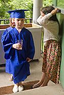 New Windsor, New York - Hudson Hills Academy held its Primary School graduation ceremony on Wednesday, June 11, 2014. The children completed a Montesorri program at the school.