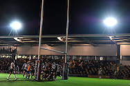 Rabodirect Pro12 rugby union match, Newport Gwent Dragons v Zebra at Rodney Parade in Newport on Friday 4th Oct 2013. pic by Andrew Orchard, Andrew Orchard sports photography