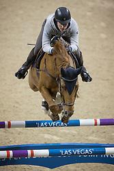 Lindelow Douglas, (SWE), Casello <br /> Training session<br /> Longines FEI World Cup™ Jumping Finals <br /> Las Vegas 2015<br />  © Hippo Foto - Dirk Caremans<br /> 15/04/15