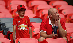 Manchester United fans prior to kick-off