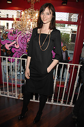 Singer SOPHIE ELLIS-BEXTOR at the launch party for the shop 'Lost in Beauty' 117 Regents Park Road, London NW1 on 22nd April 2008.<br /><br />NON EXCLUSIVE - WORLD RIGHTS