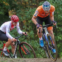 08-11-2020: Wielrennen: EK Veldrijden: Rosmalen <br />David van der Poel