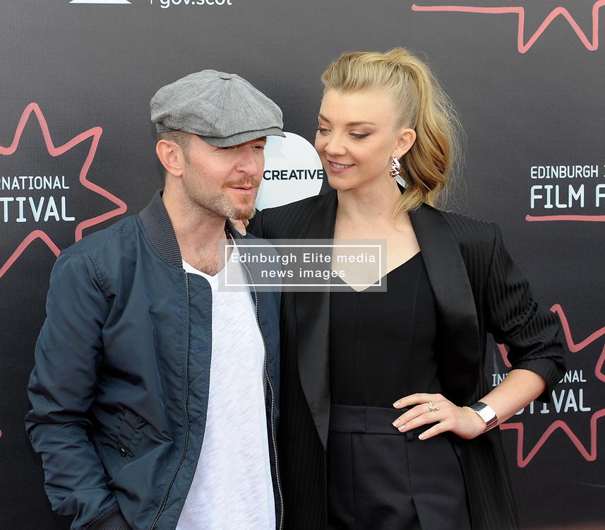 Edinburgh International Film Festival, Tuesday, 26th June 2018<br /> <br /> IN DARKNESS (EUROPEAN PREMIERE)<br /> <br /> Pictured:  Director Anthony Byrne and Natalie Dormer<br /> <br /> (c) Aimee Todd | Edinburgh Elite media