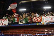 DESCRIZIONE : Milano  Lega A 2011-12 EA7 Emporio Armani Milano Scavolini Siviglia Pesaro play off semifinale gara 1<br /> GIOCATORE : tifosi<br /> CATEGORIA : tifosi pubblico esultanza<br /> SQUADRA : Scavolini Siviglia Pesaro<br /> EVENTO : Campionato Lega A 2011-2012 Play off semifinale gara 1 <br /> GARA : EA7 Emporio Armani Milano Scavolini Siviglia Pesaro<br /> DATA : 29/05/2012<br /> SPORT : Pallacanestro <br /> AUTORE : Agenzia Ciamillo-Castoria/ GiulioCiamillo<br /> Galleria : Lega Basket A 2011-2012  <br /> Fotonotizia : Milano  Lega A 2011-12 EA7 Emporio Armani Milano Scavolini Siviglia Pesaro play off semifinale gara 1<br /> Predefinita :