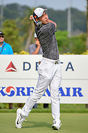 Cheng JIN (CHN) watches his tee shot on 3 during Rd 3 of the Asia-Pacific Amateur Championship, Sentosa Golf Club, Singapore. 10/6/2018.<br /> Picture: Golffile   Ken Murray<br /> <br /> <br /> All photo usage must carry mandatory copyright credit (© Golffile   Ken Murray)