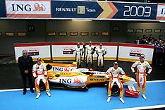 2009 Renault Launch January Portimao