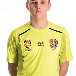 BRISBANE, AUSTRALIA - NOVEMBER 10:  Macklin Freke of the Roar poses for a photo during the Brisbane Roar Youth headshot session at QUT Kelvin Grove on November 10, 2017 in Brisbane, Australia. (Photo by Patrick Kearney / Brisbane Roar)