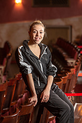 Constance Devernay, one off Scottish Ballet's principal dancers at the Festival Theatre, Edinburgh.