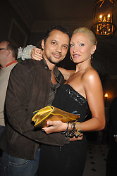 Model CAPRICE BOURRET and GERRY DEVEAUX at the Tatler magazine Summer Party, Home House, Portman Square, London W1 on 27th June 2007.<br /><br />NON EXCLUSIVE - WORLD RIGHTS