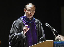 May 13, 2019 - Baltimore, Md, USA - Former US Deputy Attorney General Rod Rosenstein delivers keynote speech at University of Baltimore law school commencement at the Modell Performing Arts Center at the Lyric. (Credit Image: © TNS via ZUMA Wire)