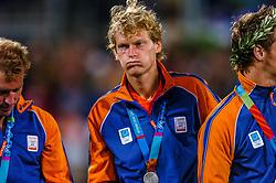 27-08-2004 GRE: Olympic Games day 15, Athens<br /> Hockey finale mannen Nederland - Australie 1-2 / Marten Eikelboom #11