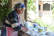 Woman Backing Traditional Georgian Bread, Tiblisi, Georgia