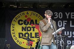 John Dunn, people's poet, Orgreave 30 Year Anniversary Picnic