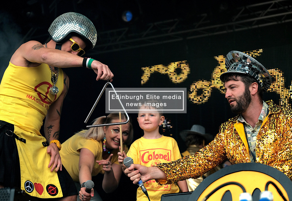 Party At The Palace, Saturday 11th August 2018<br /> <br /> Pictured: Colonel Mustard and the Dijon 5<br /> <br /> Aimee Todd | Edinburgh Elite media