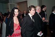 Kate Fleetwood; Rupert Goold, The Laurence Olivier Awards,The Grosvenor House Hotel, Park Lane. London.   21 March  2010
