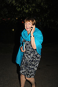 TESSA JOWELL, 2014 Serpentine's summer party sponsored by Brioni.with a pavilion designed this year by Chilean architect Smiljan Radic  Kensington Gdns. London. 1July 2014