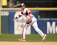 CHICAGO - JULY 28:  Ryan Goins #17 of the Chicago White Sox fields against the Minnesota Twins on July 28, 2019 at Guaranteed Rate Field in Chicago, Illinois.  (Photo by Ron Vesely)  Subject:   Ryan Goins