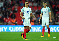 Football - 2017 / 2018 FIFA World Cup Qualifier - UEFA Group F: England vs. Slovakia<br /> <br /> Jake Livermore of England comes on as a late substitute which only last 30 seconds at Wembley Stadium.<br /> <br /> COLORSPORT/ANDREW COWIE