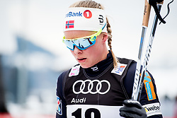 January 6, 2018 - Val Di Fiemme, ITALY - 180106 Anne Kjersti KalvÅ' of Norway after women's 10km mass start classic technique during Tour de Ski on January 6, 2018 in Val di Fiemme..Photo: Jon Olav Nesvold / BILDBYRN / kod JE / 160122 (Credit Image: © Jon Olav Nesvold/Bildbyran via ZUMA Wire)