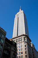 Empire State Building in New York City October 2008