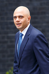 © Licensed to London News Pictures. 03/06/2014. LONDON, UK. Culture Secretary, Sajiv Javid attending to a cabinet meeting in Downing Street on Tuesday, 3 June 2014. Photo credit: Tolga Akmen/LNP