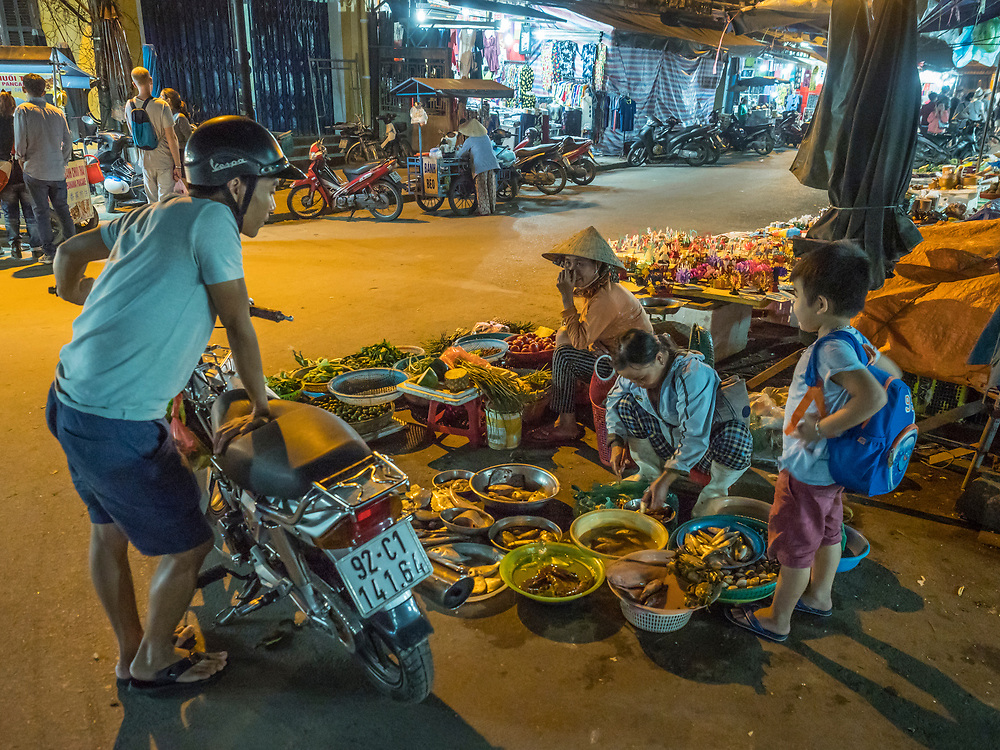 Asia, Vietnam, Hoi An, old town historic district.  UNESCO World Heritage Site. Editorial Use Only.
