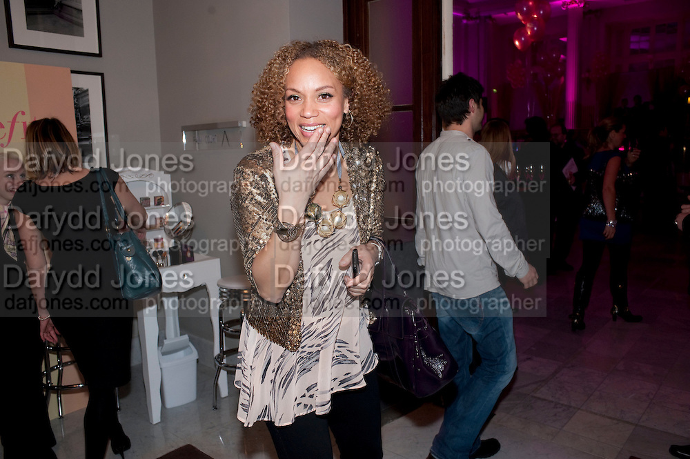ANGELA GRIFFIN, Savoy Theatre's Legally Blonde- The Musical,  Gala night. After-party at the Waldorf Hilton. London. 13 January 2010. *** Local Caption *** -DO NOT ARCHIVE-© Copyright Photograph by Dafydd Jones. 248 Clapham Rd. London SW9 0PZ. Tel 0207 820 0771. www.dafjones.com.<br /> ANGELA GRIFFIN, Savoy Theatre's Legally Blonde- The Musical,  Gala night. After-party at the Waldorf Hilton. London. 13 January 2010.