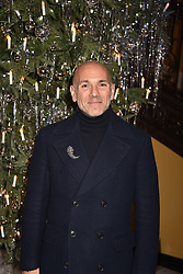 Jason Basmajian at reception to celebrate the launch of the Claridge's Christmas Tree 2017 at Claridge's Hotel, Brook Street, London England. 28 November 2017.