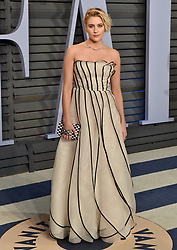 2018 Vanity Fair Oscar Party. Wallis Annenberg Center for the Performing Arts, Beverly Hills, CA. Pictured: Eve Hewson. EVENT March 4, 2018. 04 Mar 2018 Pictured: Greta Gerwig. Photo credit: AXELLE/BAUER-GRIFFIN/MEGA TheMegaAgency.com +1 888 505 6342