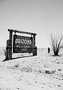 Arizona - California State Line 1936