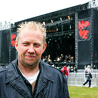 Festivalgeneral Toffen Gunnufsen på Hovefestivalen.<br /> Tor Erik Schrøder NTB scanpix