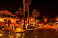 Prospect Street, La Jolla (San Diego), California USA.