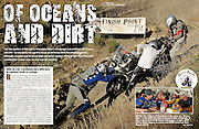 "James Pratt photographs the 2010 Adventure Rider Challenge competition in Castaic, California for a story called ""Of Ocean's and Dirt"" for Adventure Rider Magazine."