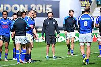 Franck AZEMA - 01.05.2015 - Captains' Run de Clermont avant la finale - European Rugby Champions Cup -Twickenham -Londres<br /> Photo : David Winter / Icon Sport