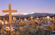 Camposanto (cemetery) near Truchas, New Mexico
