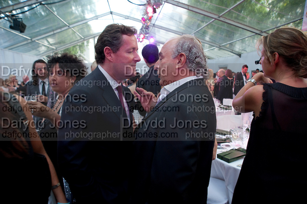 Piers Morgan; Philip Green, Glamour magazine Women of the Year Awards. Berkeley Square. London. 2 June 2009