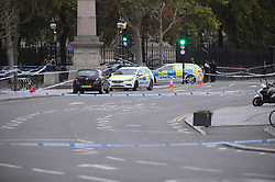© Licensed to London News Pictures. 10/10/2019. London UK: Police close off Stratford Broadway in east London after a fatal stabbing outside the shopping centre. Emergency services were call just after 3pm today but the teenager was pronounced dead at the scene , Photo credit: Steve Poston/LNP